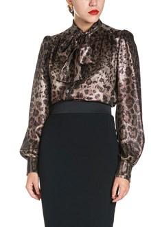 DOLCE & GABBANA animalier blouse