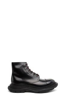 ALEXANDER MCQUEEN oversize sole combact boots