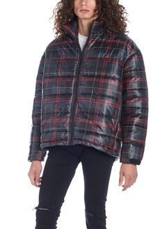 REPRESENT tartan down jacket