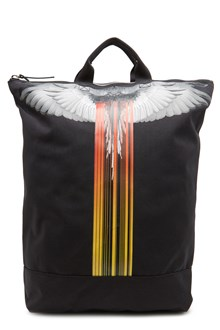 MARCELO BURLON - COUNTY OF MILAN zaino 'wings barcode'