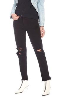 DENIM X ALEXANDER WANG 'cult side zip' jeans