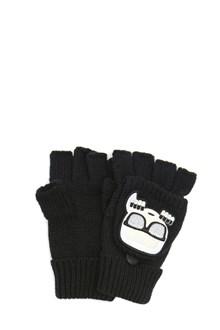 KARL LAGERFELD 'k/ikonik mitten' gloves