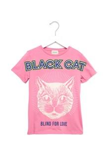 GUCCI 'black cat' t-shirt
