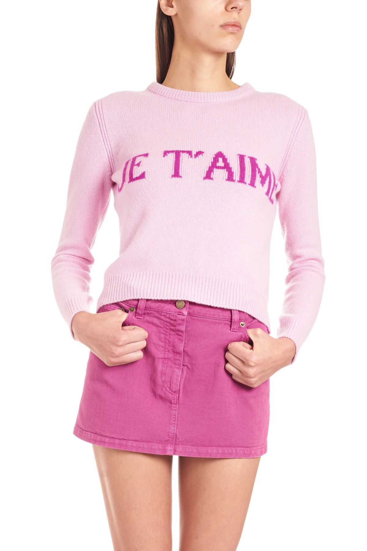 d0007f2c62f0 alberta ferretti 'Je t'aime' sweater available on julian-fashion.com ...