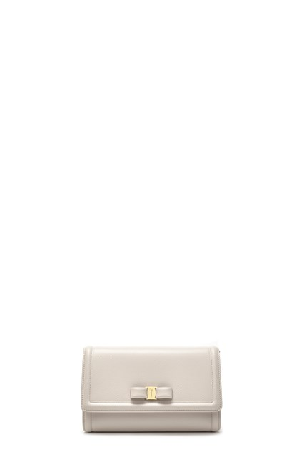 SALVATORE FERRAGAMO Crossbody bag  Mini Vara  - COD. 683495JASMINEFLOWER 56e1966f9b3f6