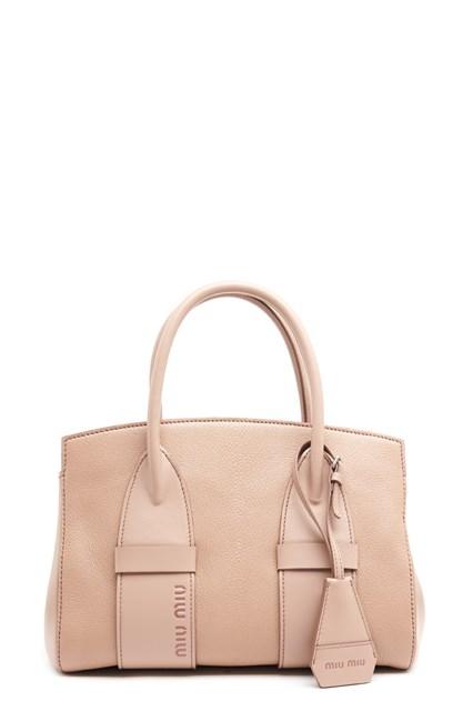 8543ed8f53e7 MIU MIU logo hand bag - COD. 5BA1012B66F0770