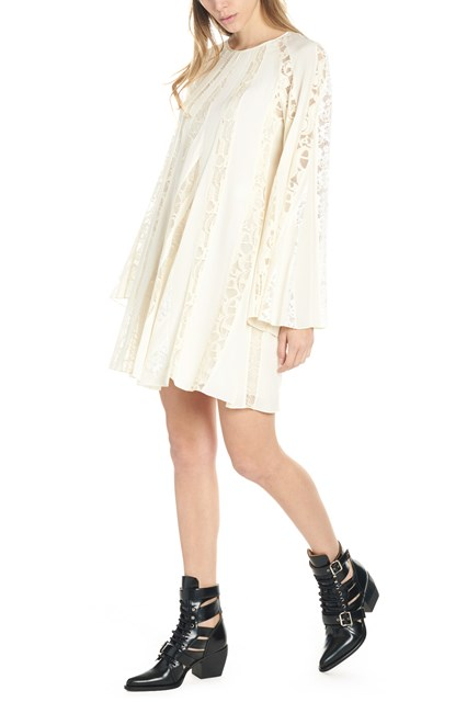 a94aa4474f8 CHLOÉ lace inserts dress - COD. CHC19SRO24004115