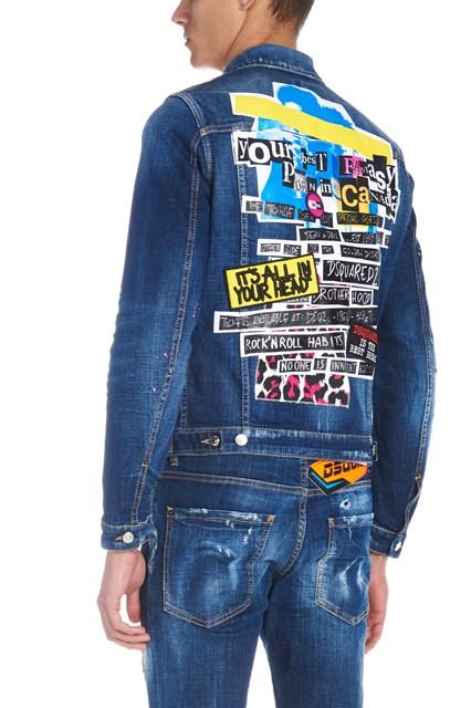 5c186eda74 DSQUARED2  Classic jean  jacket - COD. S74AM0883S30342470