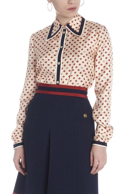150d7aacfe3 GUCCI quatrefoil blouse - COD. 550513ZLQ289294