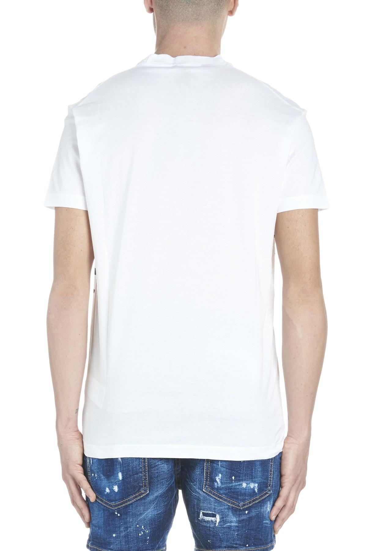 Dsquared2 Acid Glam Punk T Shirt Available On Julian Fashion
