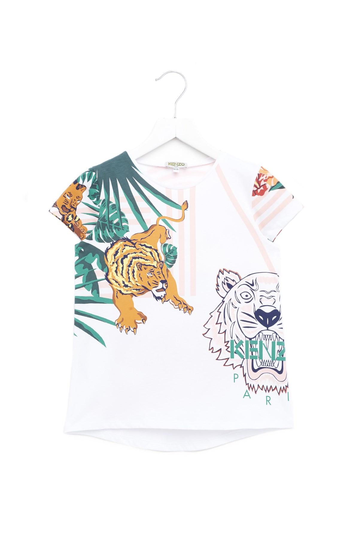 aa02ab6b kenzo kids 'Hawaii' t-shirt available on julian-fashion.com - 62989