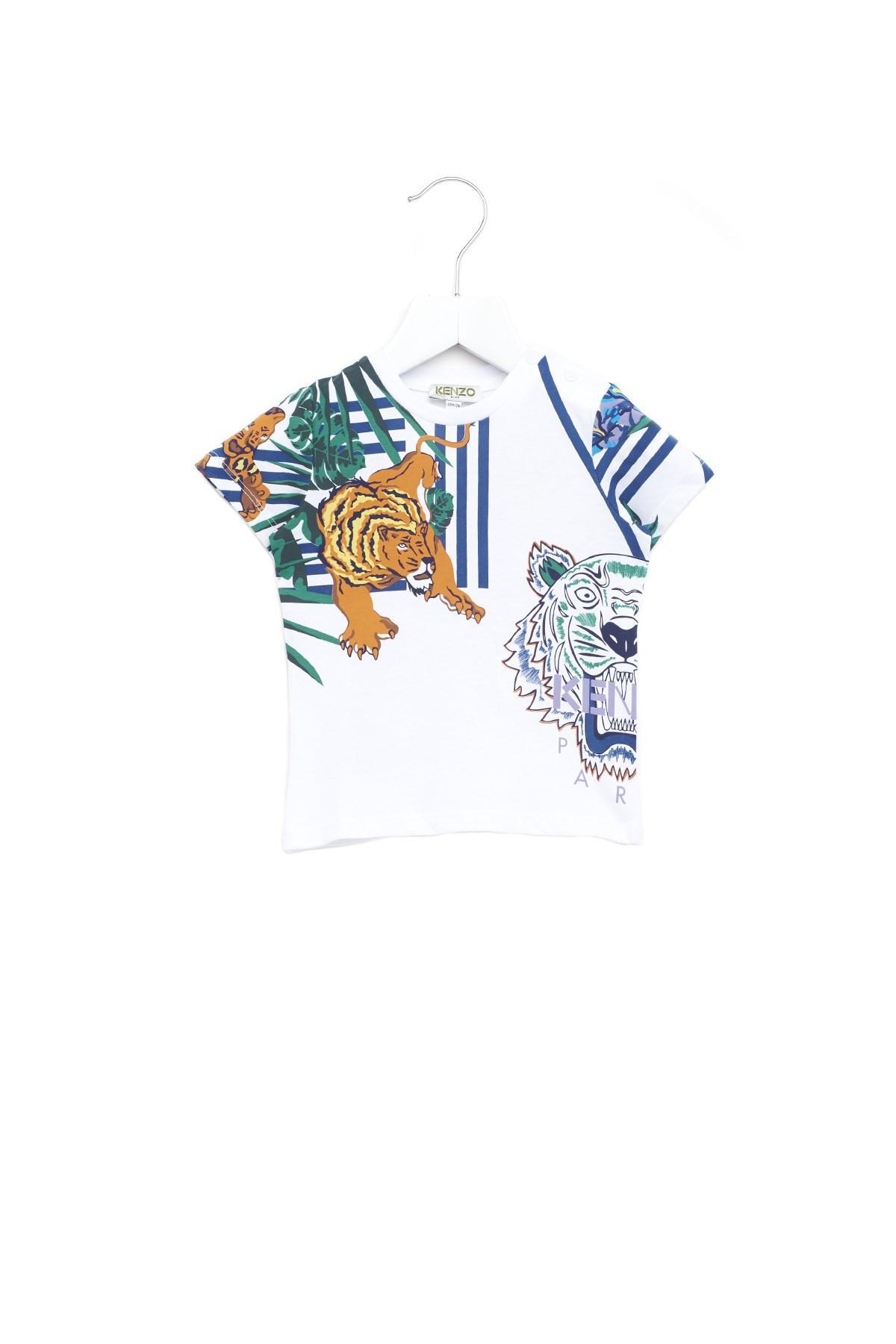 7b5dd980 kenzo kids 'Hawaii' t-shirt available on julian-fashion.com - 63040