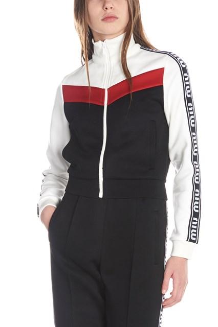 75beda36e993 MIU MIU logo band sweatshirt - COD. MJL6381TNKF0002