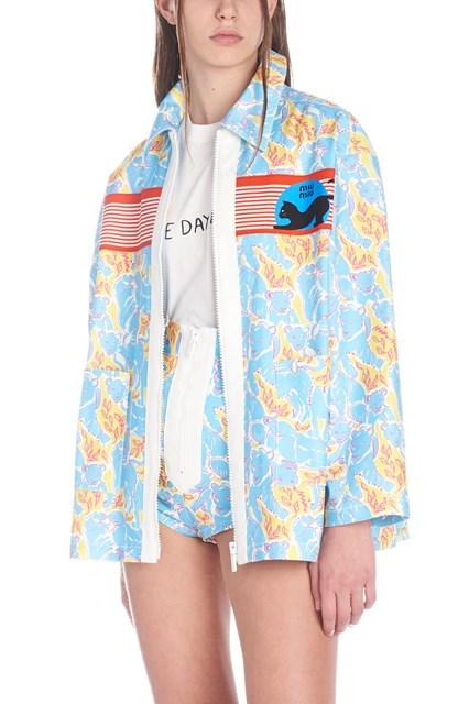 27789e83b860 MIU MIU  Panthers  jacket - COD. GWG0991TVMF0OFJ