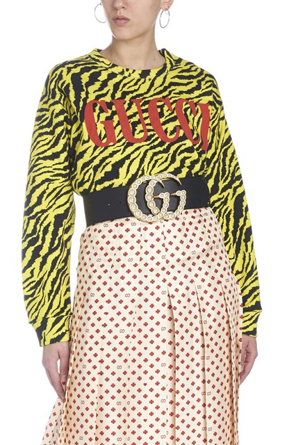 a635aedb12b GUCCI  Tiger instinct  sweatshirt - COD. 469250XJAR67003