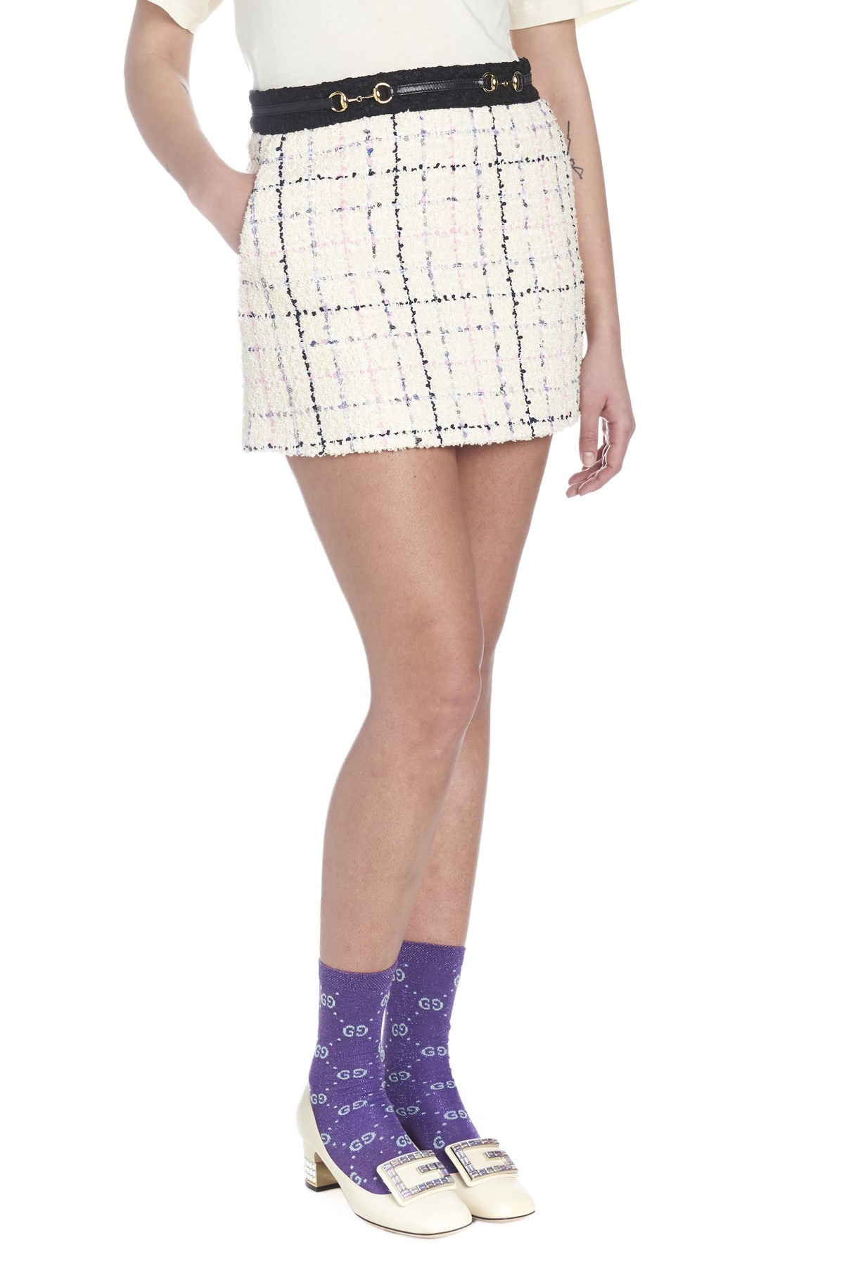 a281e5b6c3c0 gucci 'Romantic tweed' skirt available on julian-fashion.com - 65835