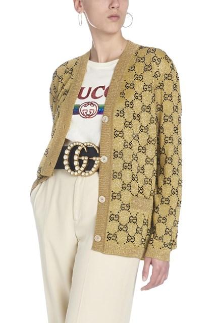 GUCCI Cardigan lurex - COD. 555043XKAHX7064 42b4e1ea18d