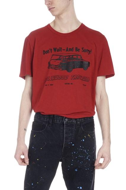 6d3bf3f8d72 REESE COOPER  Hollywood tantrum  t-shirt - COD. FD00003REDBLACK