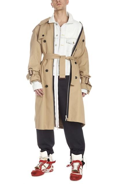 16f8db5ea5b MAISON MARGIELA Trench with denim jacket inserts - COD. S50FZ00004STN838961