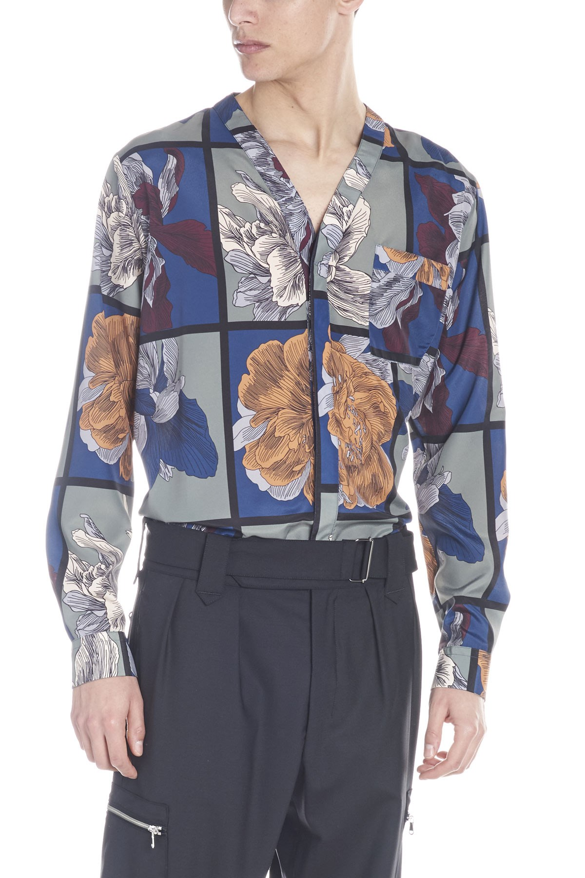 5d9056838 christian pellizzari floral printed shirt available on julian ...