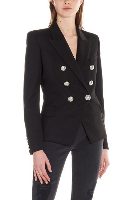 3e46bbd0659 BALMAIN silver buttons jacket - COD. RF07149W0250PA