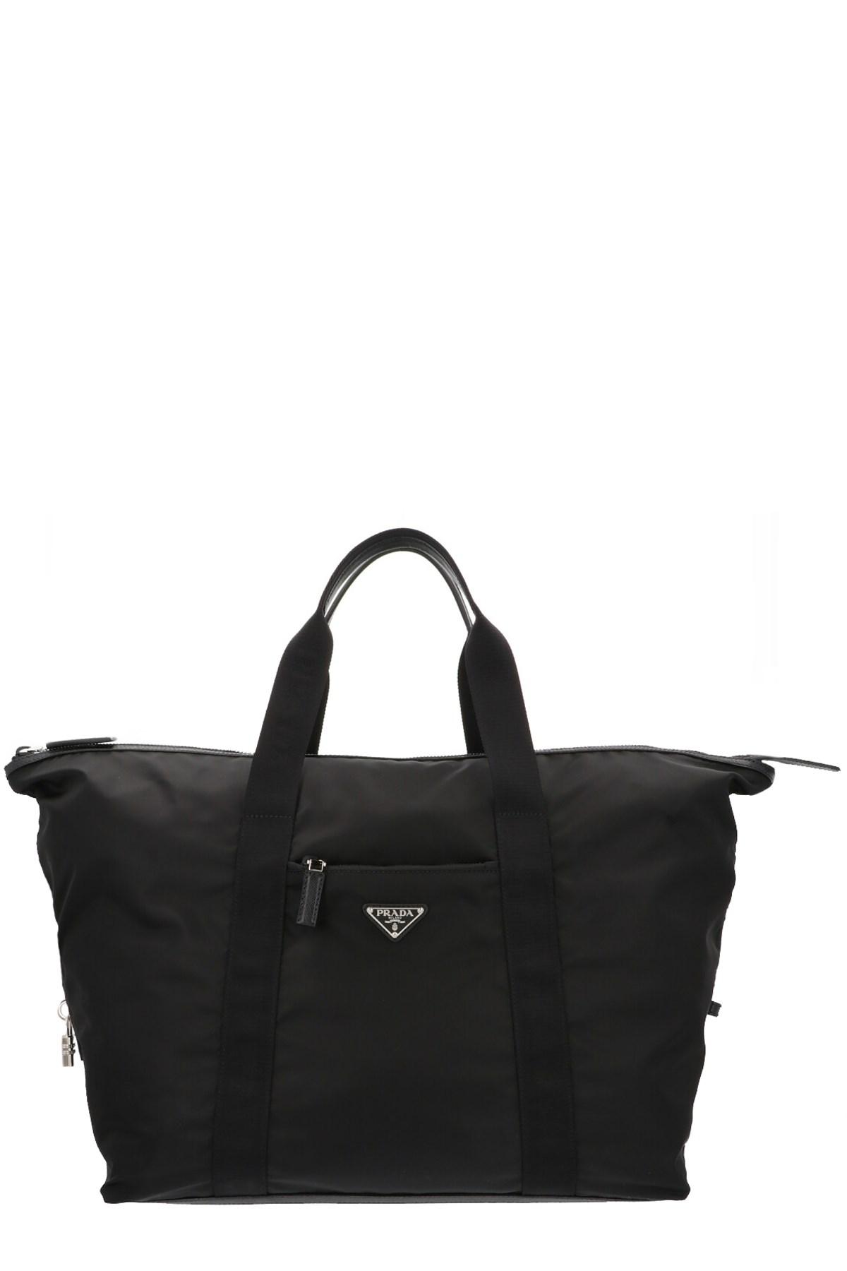 a3eb6932b1ac prada logo travel bag available on julian-fashion.com - 74639