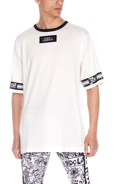 5c2452dbc02f DOLCE & GABBANA T-shirt logo - COD. G8IB8TFU7EQW0111