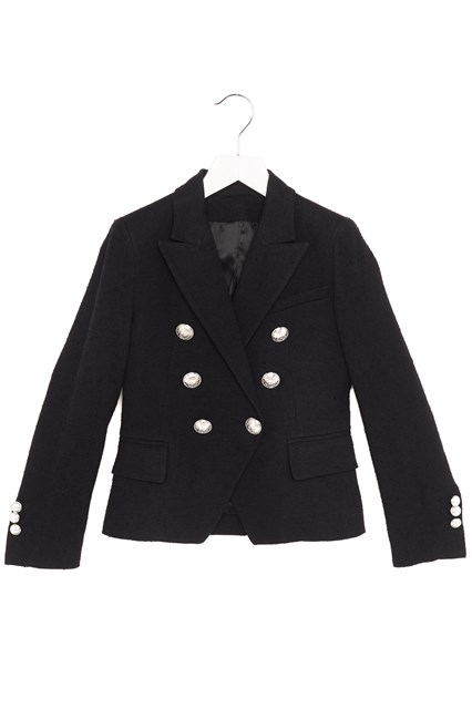649a5886da BALMAIN KIDS silver buttons jacket - COD. 6K2064KC920930