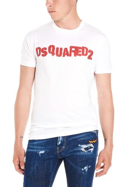 5ce856666a071 DSQUARED2  Logo punk  t-shirt - COD. S74GD0494S22427100
