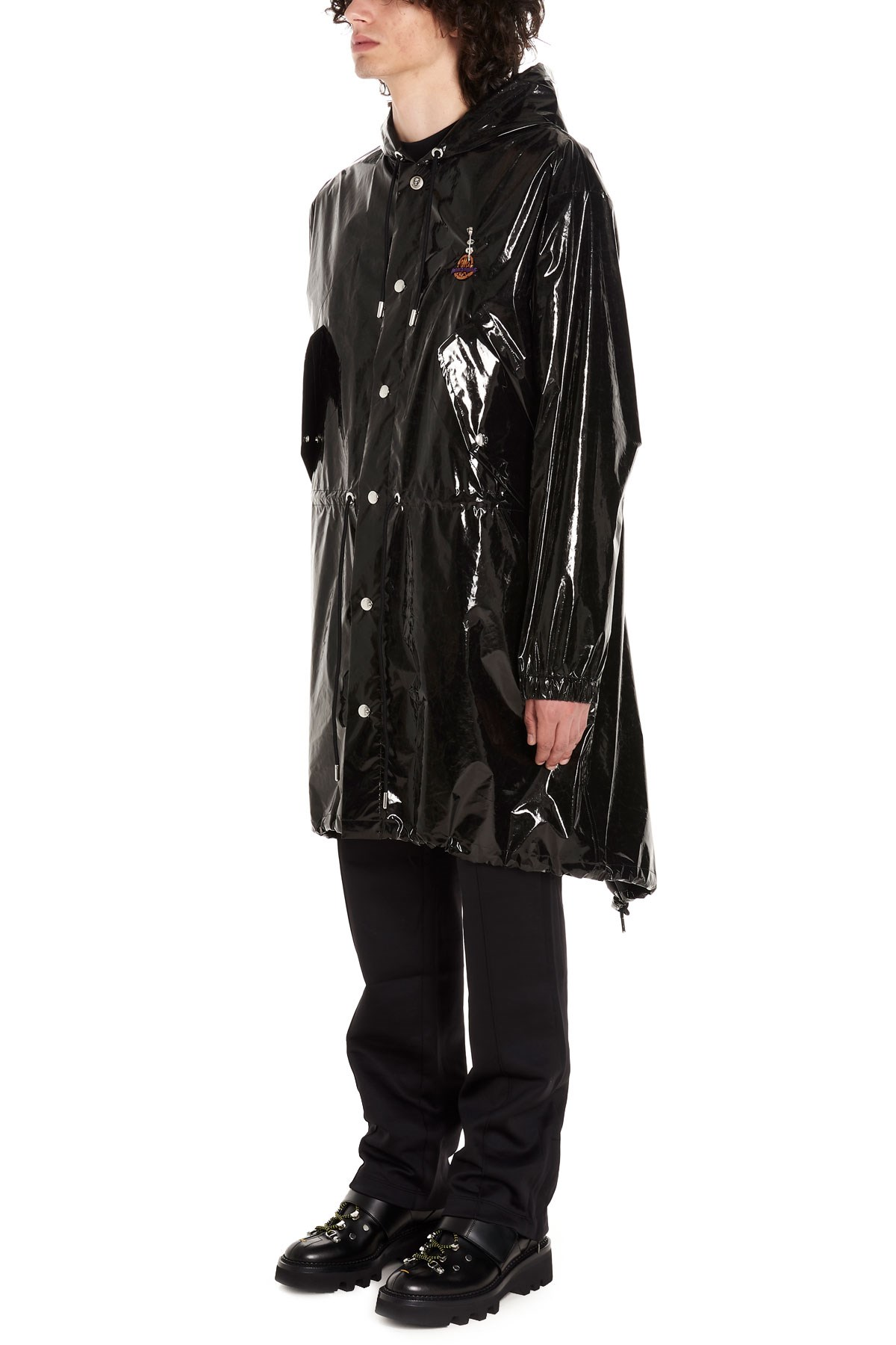 d77ee8d59 moncler genius 'Sid' Moncler Genius x Palm Angels raincoat available ...