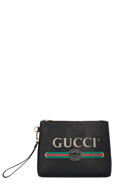 design senza tempo 6d4e1 d8e4b Pochette 'Gucci print'
