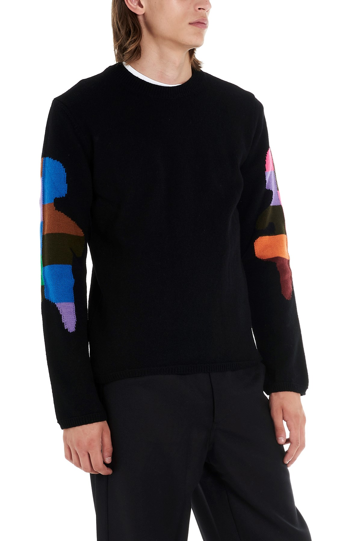 outlet cdc65 6a160 comme des garcons shirt Maglione intarsio su www.julian ...