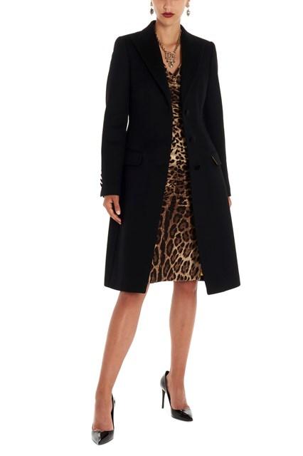 55950904a5d5 DOLCE & GABBANA Onebreasted coat - COD. F0Q41TFU3OEN0000