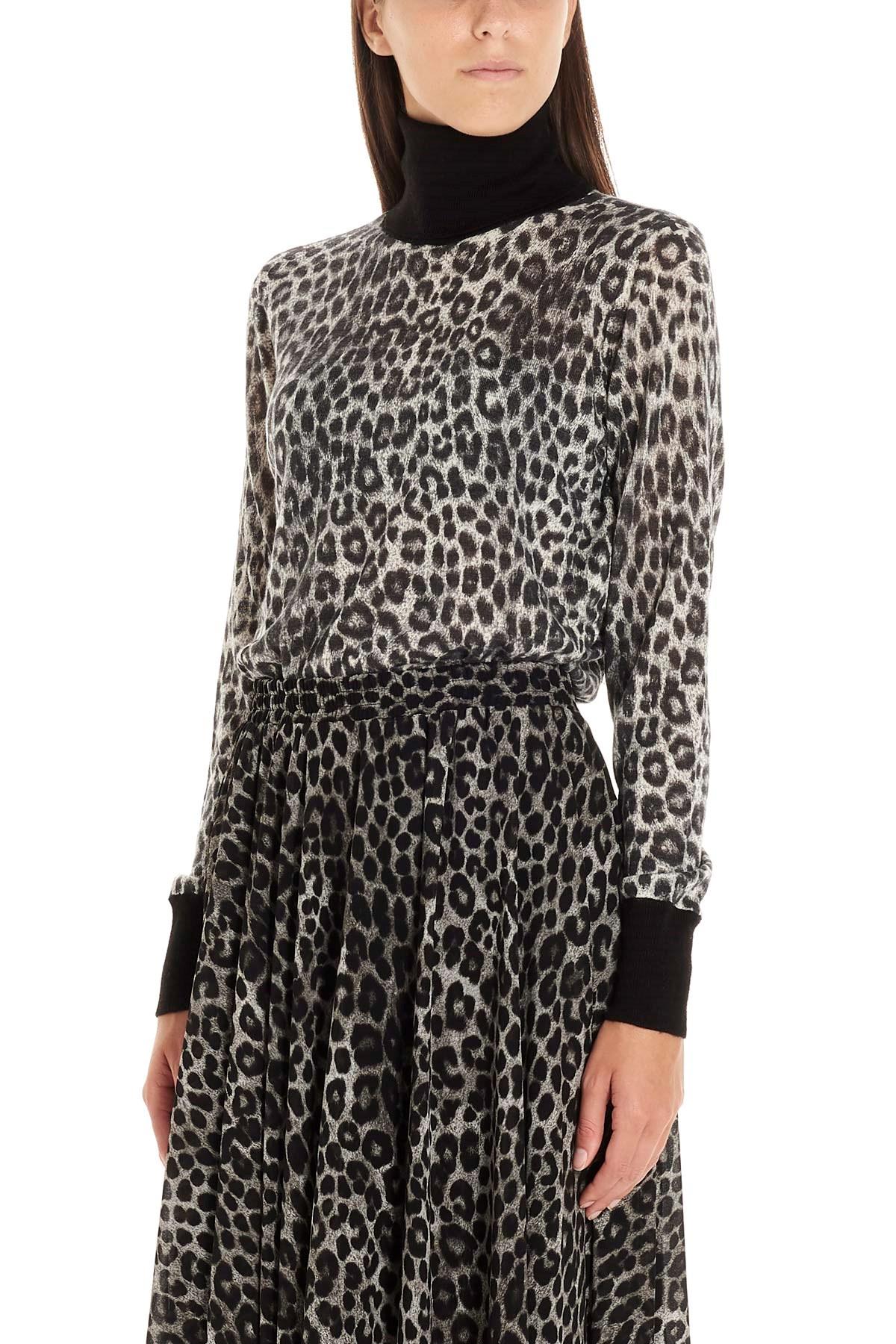 New York negozio più venduto shopping michael michael kors Maglioncino animalier su www.julian-fashion ...