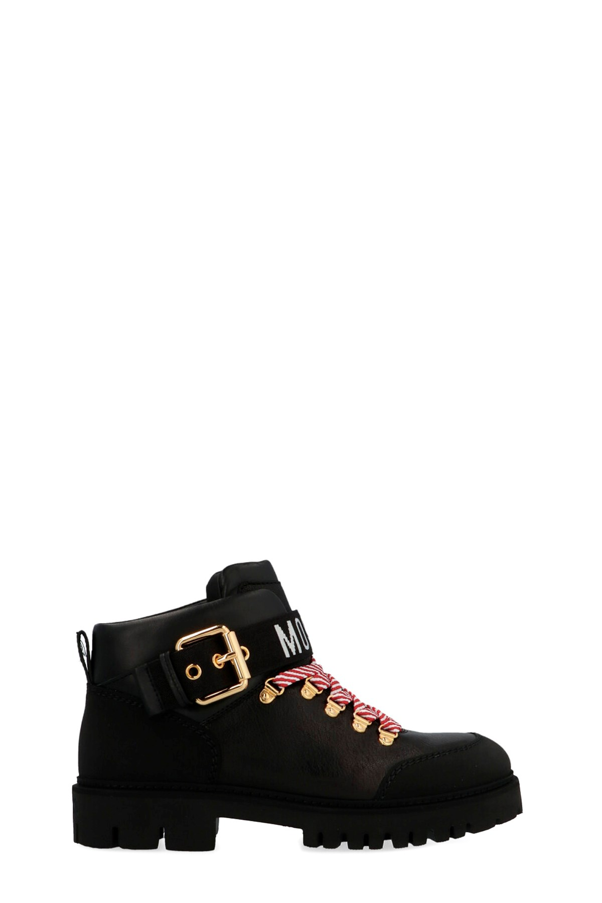 moschino Logo ankle boots available on
